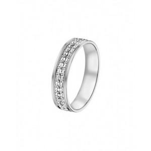 Alliance Or 750/1000 or blanc diamantée