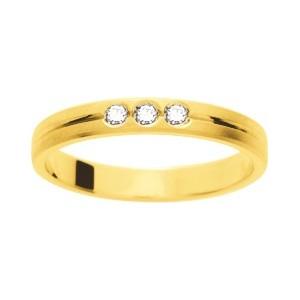 Alliance Or 750/1000 Diamant 0.06ct