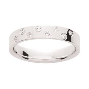 Alliance Or 750/1000 Diamant 0.08ct