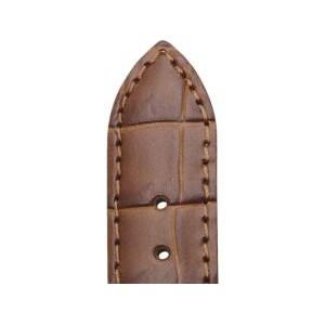 Bracelet Montre Veau Grain Alligator CHARLESTON Gold 14/12mm Mat