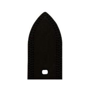 Bracelet Montre Silicone Birdy Noir 22x20mm Mat