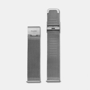 Bracelet Montre Cluse La Bohème Strap 18mm Mesh Silver CLS045