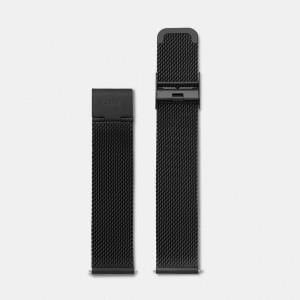 Bracelet Montre Cluse La Bohème Strap 18mm Mesh Black CLS048