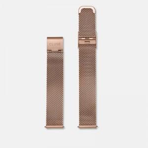 Bracelet Montre Cluse Minuit Strap 16mm Mesh Rose Gold CS1401101030