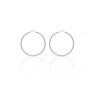 Boucles d'oreilles Argent 925/1000 Créole 45mm
