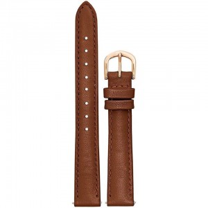 Bracelet Montre cuir Marron 14mm