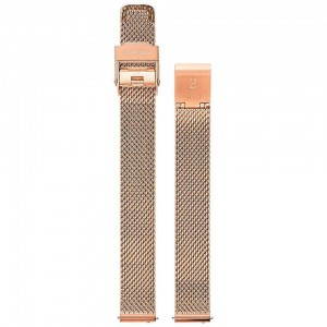 Bracelet Montre Acier Milanais Doré Rose 12mm