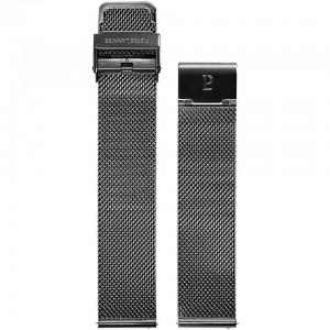 Bracelet Montre Acier Noir Milanais 20mm