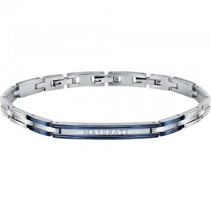 Bracelet acier MASERATI 22CM