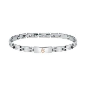 Bracelet acier MASERATI 21.5CM