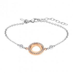 Bracelet Acier et Oxyde de Zirconium LOTUS STYLE