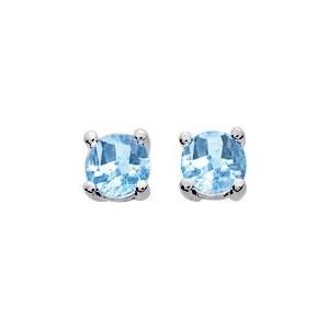 Boucles d'Oreilles Argent 925/1000 et Oxyde de Zirconium
