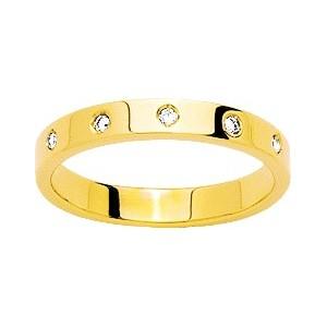 Alliance Or 750/1000 Diamant 0.05ct