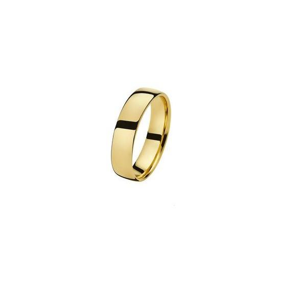 Alliance Or 750/1000 ruban 5.5mm confort or jaune